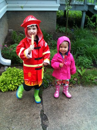 Rainboots and popsicles